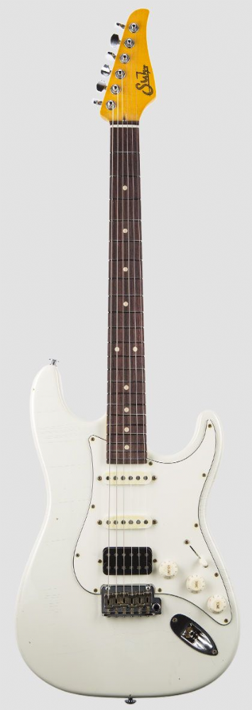 Suhr Classic S Antique HSS in Olympic White